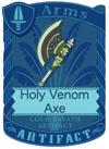 Holy Venom Axe