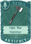 High War Hammer
