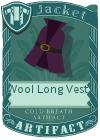 Wool Long Vest 2 Purple