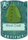 Wool coat green