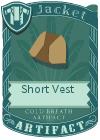 Short Vest Mint