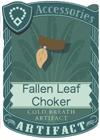 Fallen Leaf Choker