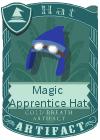 Magic Apprentice Hat Dark Blue