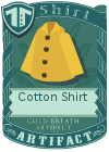 Cotton shirt collared yellow