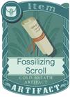 Fossilizing Scroll