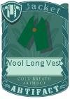 Wool Long Vest 1 Green