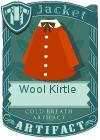 Wool kirtle red