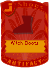 Witch Boots Red