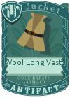 Wool Long Vest 2 Mint
