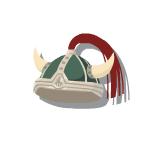 Bronze Helmet 2 Green