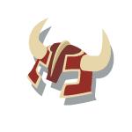 Bronze Helmet 2 Red