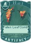 Fallen Leaf Comb