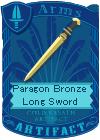 Paragon Bronze Long Sword