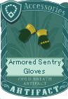 Armored sentry gloves