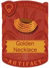 Golden Necklace 1