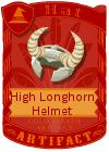 High Longhorn Helmet