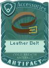 Leather Belt 3