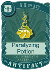Paralyzing Potion 1