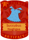 Succubus Negligee Blue