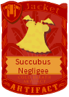 Succubus Negligee Yellow
