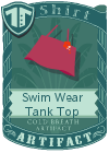 Swim Wear Tank Top Purple