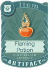 Flaming Potion