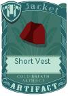 Short Vest Red