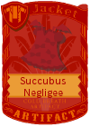 Succubus Negligee Red