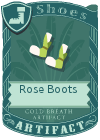 Rose Boots Green Yellow