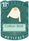 Cotton shirt bow yellow