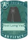 Wool Long Vest 4 Grey