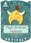 High Bronze Helmet 3