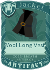 Wool Long Vest 2 Black