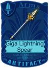 Giga Lightning Spear