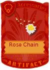 Rose Chain Yellow