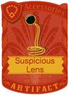 Suspicious Lens Black