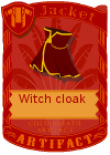 Witch Cloak Red