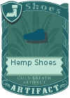 Hemp Shoes Blue