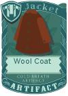 Wool coat brown