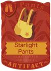 Starlight Pants Yellow