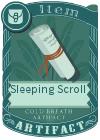 Sleeping Scroll