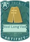 Wool Long Vest 3 Mint
