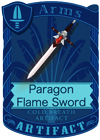 Paragon Flame Sword
