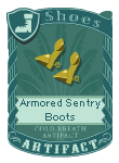 Armored Sentry Boots