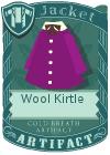 Wool kirtle purple