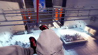 Mirror's Edge - First person realistic rope slide