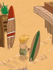 Surfer Nelson