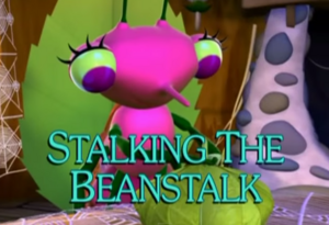 Sunny Patch Stalking the Beanstalk