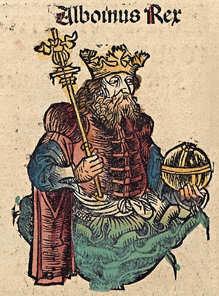 Alboin Nuremberg chronicles f 147v 1