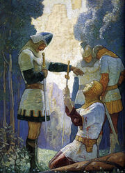 N.C. Wyeth- Death of Orlando